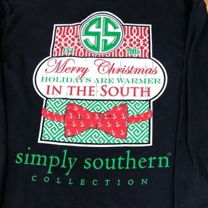 Simply Southern Long Sleeve Christmas Tee